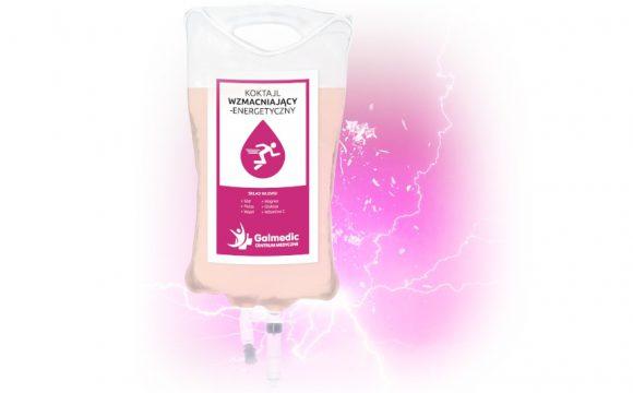 Kroplówka – Koktajl Wzmacniająco-Energetyczny – Centrum Medyczne Galmedic