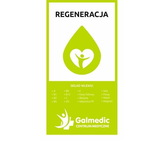 Kroplówka witaminowa regeneracyjna